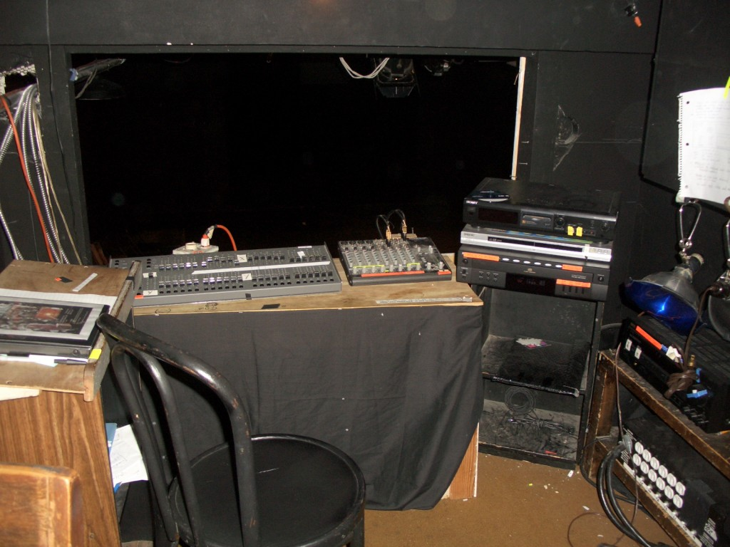 Phoenix Theatre Tech Booth