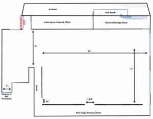 measurements for the Phoenix II suite 604