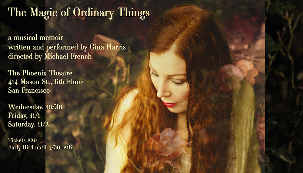 Magic of Ordinary Things musical theatre
