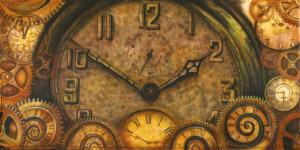 clock backdrop for calendar page
