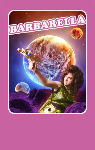 Barbarella the play at the Phoenix in July 2016